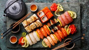 Суши-бар на Красной поляне