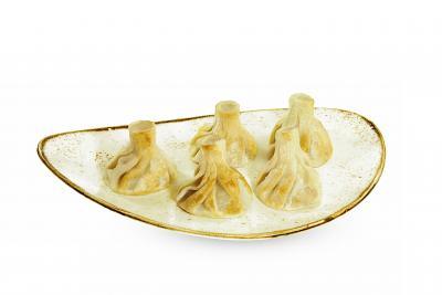 Хинкали с телятиной жареные  1 шт (минимальный заказ 5 шт)