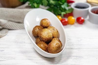 Картофель молодой запеченный