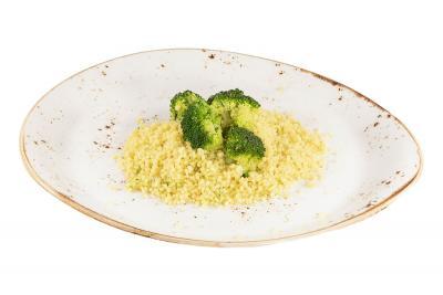 Пряный кус-кус с брокколи