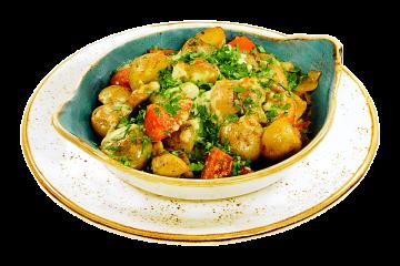 Сковородка Курица с овощами
