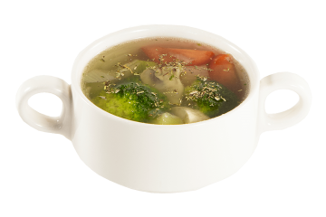 Суп овощной с прованскими травами